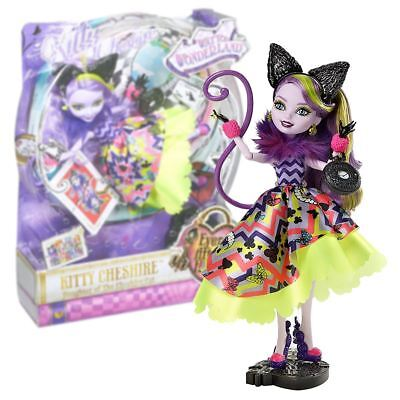 New Ever After High Way Too Wonderland Kitty Cheshire Doll Official