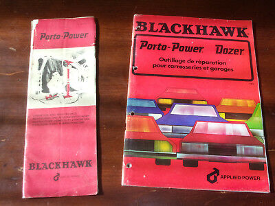 "A Voir !!! Lot Catalogues "" Blackhawk "" D'epoque"