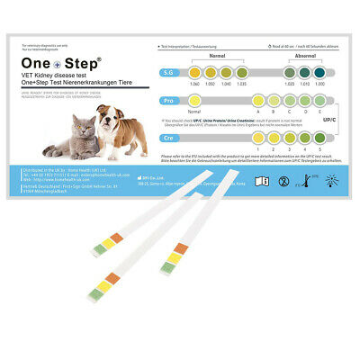 Pet Kidney Disease Renal Urine Tests - Animal Vet - Cats - Dogs - One Step®