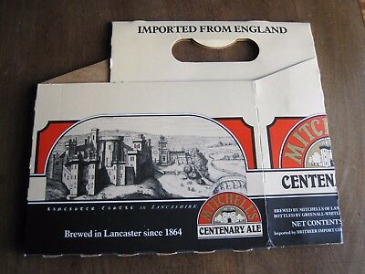 Mitchells brewery Lancaster Centenary ale beer box 1980