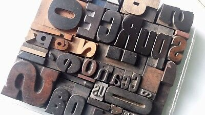Type lot:sorts,letterpress wood letter mixed printing block set,wooden font