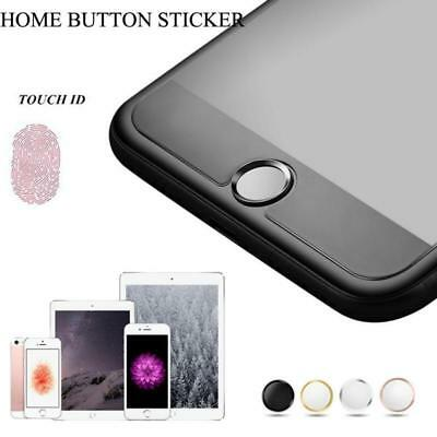 TOUCH ID Home Button Sticker Ring For iPhone 5S 6 6S 7 Plus & iPad Metal Ring 6A