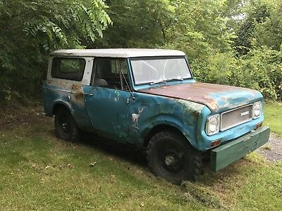 1969 International Harvester Scout  1969 International Harvester Scout 800A Survivor V8 4x4 Wow Original Paint ?