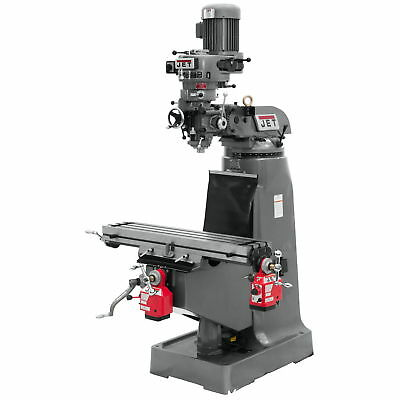 Jet 690097 JTM-1 Mill With X and Y-Axis Powerfeeds