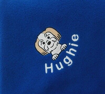 LHASA APSO Personalised Embroidered Fleece Pet Blanket - 16 Colours