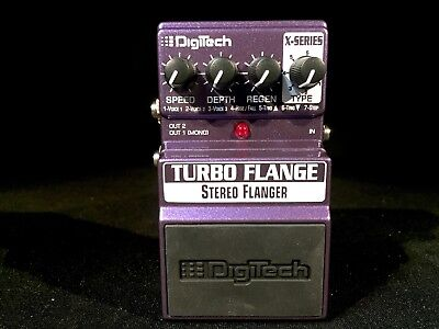DigiTech X-Series Turbo Stereo Flanger Pedal