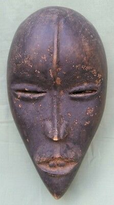 Interesting antique African wood Dan Mask, from Prause collection