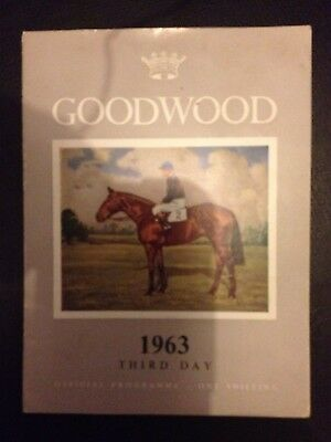 1963 Goodwood Racecard