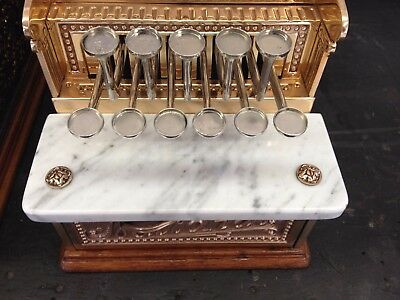 National Cash Register Model 216 Marble Coin Slab and others