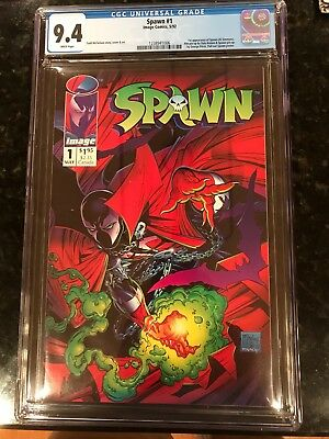 Lot of 5 Image #1 Comics: Includes Spawn #1  CGC 9.4 Todd Mcfarlane Story / Art