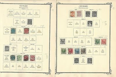Denmark & West Indies Collection 1851-1960 on 25 Scott Specialty Pages