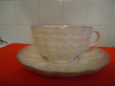 Belleek first period cup and saucer