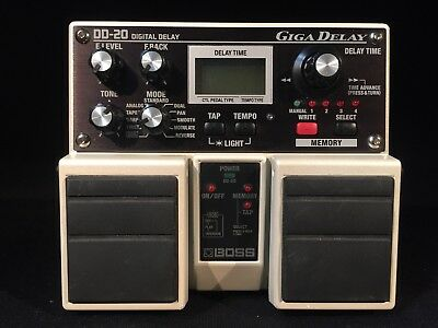 Boss DD-20 Giga Digital Delay Pedal