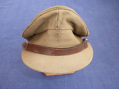 WW2 Style British Army Officers Service Dress Cap - RAEC (Queens Crown) - Alkit