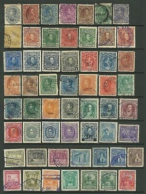 Venezuela - collection of 288 used stamps. Mixed condition in places.