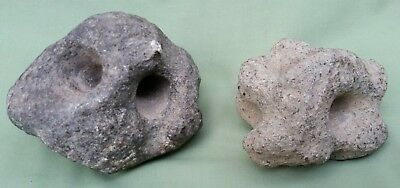 Very rare Polynesian? Stone Fire Makers, very early and never seen these before