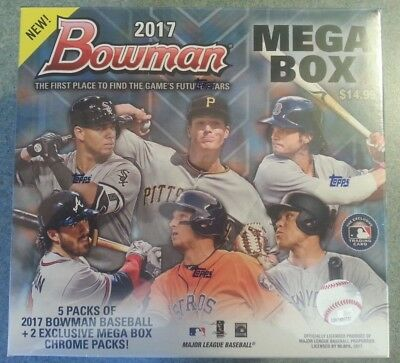 LOT OF 8 2017 BOWMAN MEGA BOX Factory Sealed MOJO BELLINGER JUDGE OTANI HOT!!!
