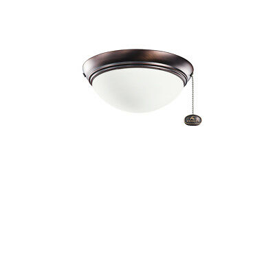 Kichler Accessories Small Low Profile Ceiling Fan Light Kit in Oil Brushed