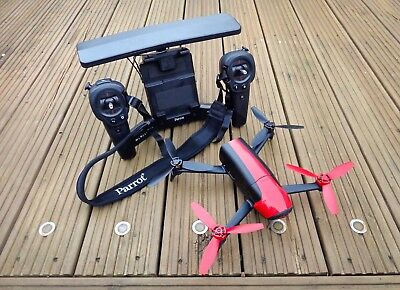 Parrot Bebop 2 & Sky Controller Drone Excellent Condition In Hard Case.