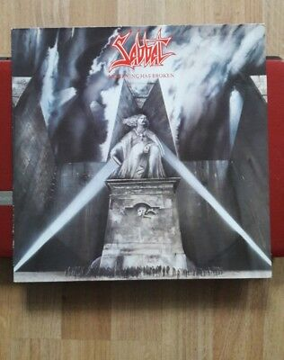 Sabbat, Mourning Has Broken. Original Vinyl Lp, Scarce Speed Metal. P/s + Insert