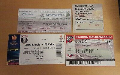 4 x CELTIC AWAY TICKETS (FRIENDLY, EUROPEAN)