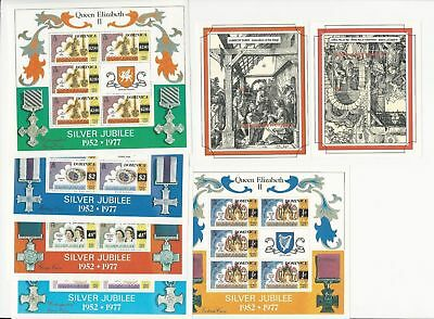 Dominica Collection on 18 Pages, Accumulation of Stamps & Sheets, Lot