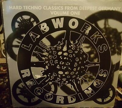 Techno/Hardhouse vinyl collection - All listed - 43 records