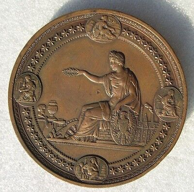 MEDAILLE EXPOSITION INTERNATIONALE PHILADELPHIE 1876 Philadelphia exhibition USA