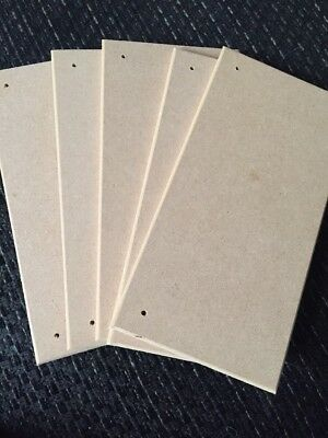 5 X Unfinished MDF  Decorative Blank Plaque for Arts and Crafts.. Joblot