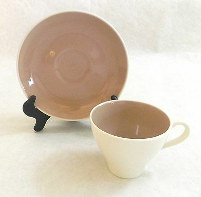 HARKERWARE China -- PINK COCOA - SPRINGTIME - 13 CUPS & SAUCERS