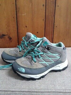 childs The North Face walking boots size 13