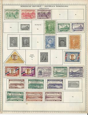 Dominican Republic Collection 1879-1962 on 20 Minkus Global Pages