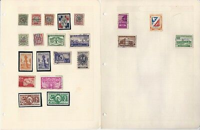 Dominican Republic Collection on 10 Pages, All Different Lot