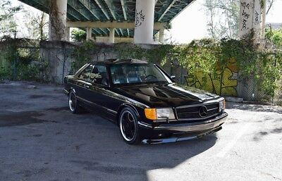 1989 Mercedes-Benz 500-Series  560 SEC / 1 OWNER ENTHUSIAST OWNED / AMG UPGRADES  /