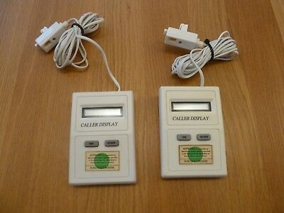 2 Caller ID Boxes with  LCD Display