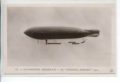 French Aviation Rppc - Dirigeable Locomotion Aerienne Colonel Renard 1909
