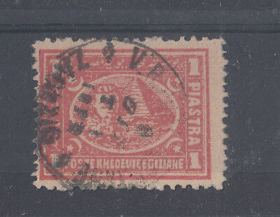 Egypt 1870's Early Zagazig Use On 1pi SG31/38?