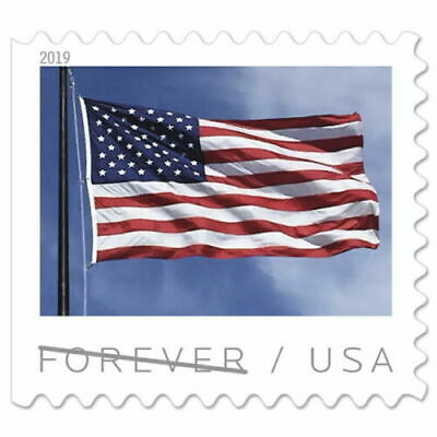 USPS - US Flag Forever Stamps (2019) Booklet of 20 stamps ***NEW***