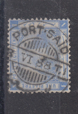 Egypt 1888 Superb Port Said Cancel On 1pi SG54