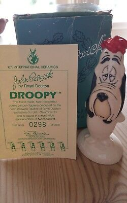 Limited Edition Droopy by John Beswick 298 of 2000