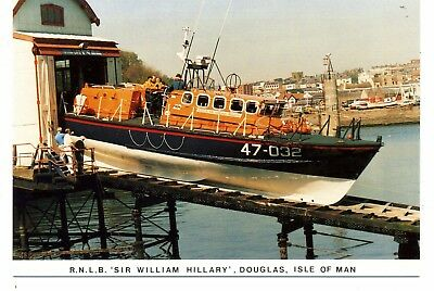""" Isle Of Man ""    Lifeboats  R.n.l.s. 'sir  William  Hillary    (1906)     1988"