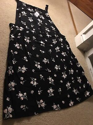New Look Maternity Pinafore Dress Size 14, Brand New