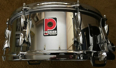 Premier 5.5 X 14 Modern Classic 2000 Snare Drum New Old Stock Flo Bleam