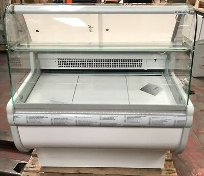 Igloo Serve Over Counter Slimline Deli Display Fridge