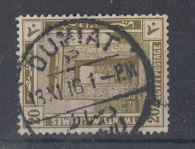 Egypt 1916 Nice Dumiat On 20m SG79