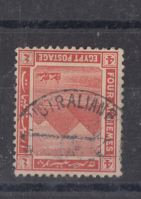 Egypt 1914+ Useful Part Australian Forces Cancel On 4m SG76