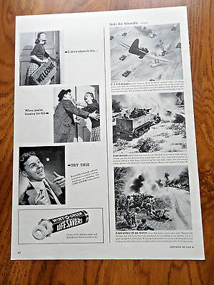 1942 Life Savers Candy Ad