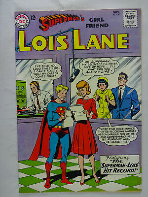Superman's Girlfriend Lois Lane #45   High Grade  VF   Silver Age   Superman