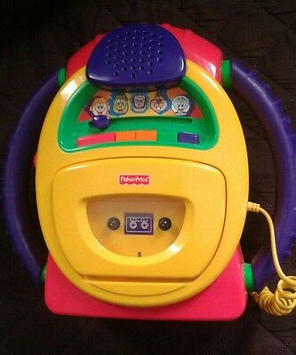 Fisher Price Tuff Stuff  CassetteTape Player and Recorder with Voice Warp