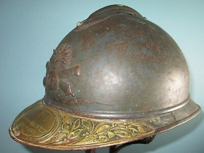 untouched complete French M15 Adrian helmet casque stahlhelm casco elmo 胄 шлем